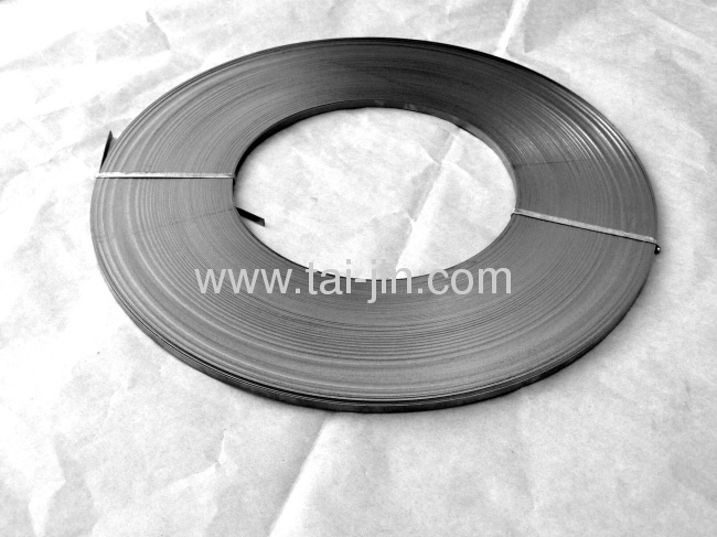 Titanium mixed metal oxide coated ribbon anode