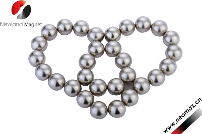 Sintered permanent magnetic bracelet