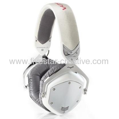 V-Moda Crossfade LP Over-Ear Noise-Isolating Metal Headphone White Pearl