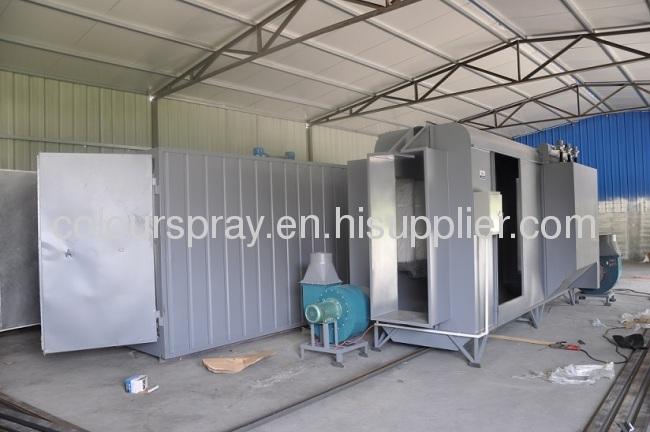 basic spray booth systemaffordable and reliable powder coating