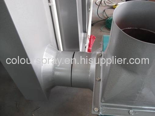 basic spray booth system affordable and reliable powder coating