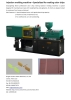Masterbatch test injection moulding machine