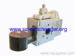 Auto belt screen changer for extrusion lines