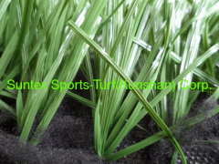 green football artificial grass 50mm for footabll filed grass