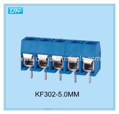 buy screw type terminal block and receptacle 300V 12A 5way