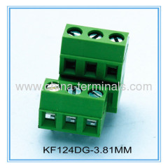 PCB terminal blocks with screw connection up to 6 mm ² 150V 10A