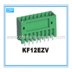 Pluggable Terminal Block connector 2.5/2.54mm 125V 4A Male vertical type