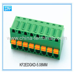 24-12AWG 4-Pin Pitch 5.08mm Screw pluggable Terminal Block Connector