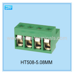24-12AWG 300V 12 a bonne qualité 5,08 mm plugable borniers