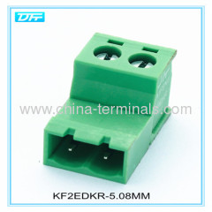 2 Pin Male Plug-In Type Terminal Block 5/5.08mm pitch 26-12 AWG