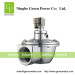Dust collector diaphragm valve