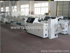 plastic making machinery for pipes