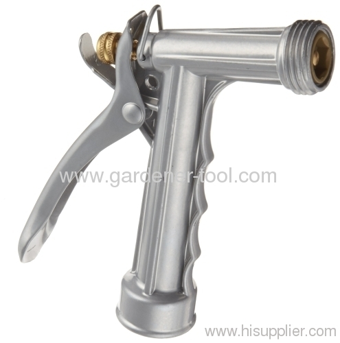 metal garden trigger water nozzle with male thread head