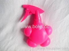 2013 pink lovely plastic watering can with handle