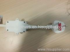 ELCB British Leakage protective power plug