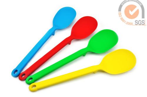 """12.5"""" Big Serving Spoon in Food Grade Silicone & Nylon"""