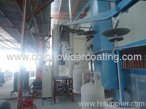 powder coating application system
