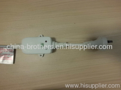 Australian leakage protection plug with test button