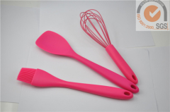 3pcs baking tools in Food grade silicone & nylon