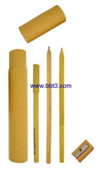 2013 New promotional recycle paper tube with paper pencil and pen