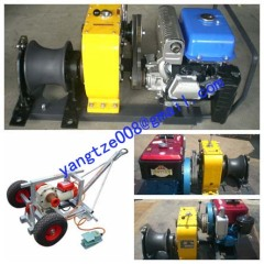 powered winch cable winch