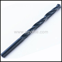 DIN338 HSS Drill Bits Roll Forged Black Finish