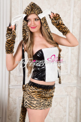 Beautiful cheetah cosplay costume ZF-058