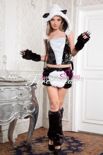 Beautiful panda cosplay costume ZF-055