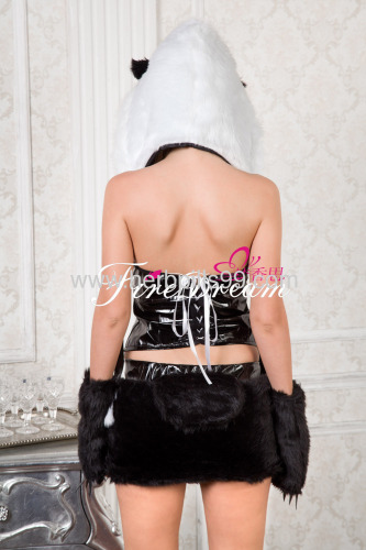 sexy products sexy lingerieBeautiful panda cosplay costume ZF-055