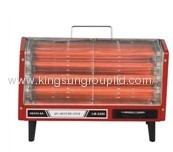 Twin Quartz Heater Tube