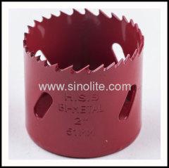 HSS bimetal hole saws