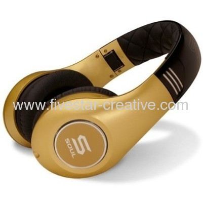 Soul by Ludacris SL300 Noise-Cancelling Headphones-Gold