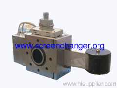 Auto belt screen changer for PP/PE/ABS/PS/PMMA extruder