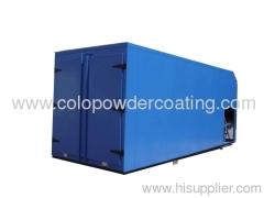 Diesel heating powder coating oven