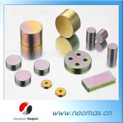colour coating sintered NdFeB magnet
