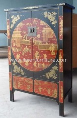 classical big painted wardrobe