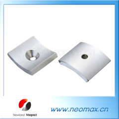 neodymium segment magnets with hole