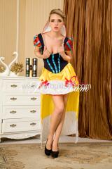 Beautiful queen cosplay costume ZF-019
