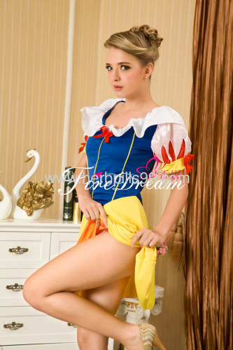sexy products sexy lingeriecospaly costume BeautifulSnow White cosplay costume ZF-006