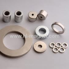 Radial magnetization ring magnet