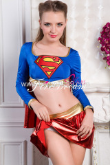 Beautiful superwoman cosply costume ZF-037