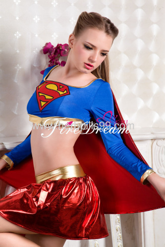 sexy products sexy lingeriecospaly costume Beautifulsuperwoman cosply costume ZF-037