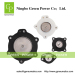 Bag house dust collector diaphragm valve service parts