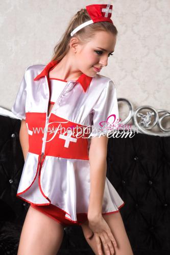 Beautiful nurse cosplay costume ZF-002