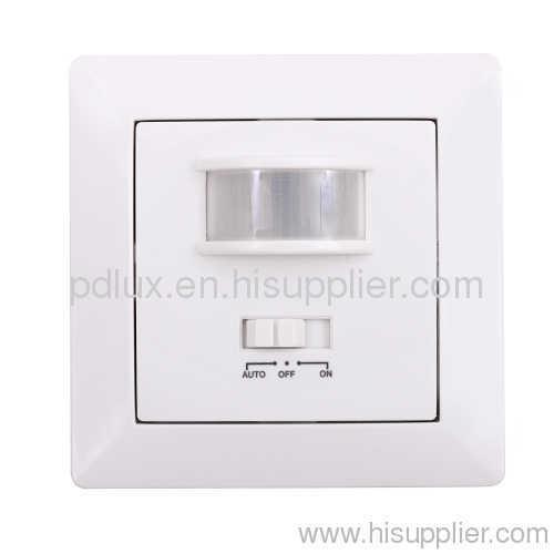 Infrared motion sensor switch
