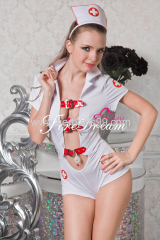 Beautiful nurse cosplay costume ZF-015