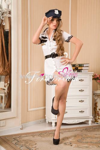 policewomen cosplay costume ZF-040