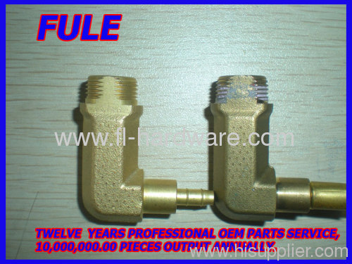 Precision Brass forging parts turning parts