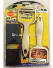 Gourmet Trends Miracle peeler vegetable Peeler as seen on tv