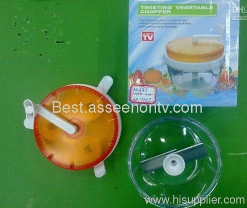 Food Processor As Seen On Tv ~ Twisting vegetable chopper food as seen on tv from